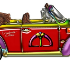 Classic Convertible VW Bug