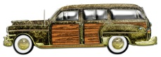 Classic Woody Station wagon