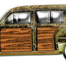 Classic Woody Station wagon