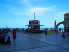 Boardwalk Vendors At Daytona Beach Bandshell Art II